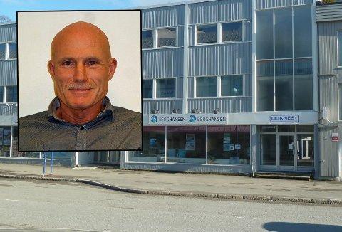 ANSATTE KJØPER AKSJER: De ansatte går inn på eiersiden i Finnsnes-bedriften Leiknes AS. Det er ledelsen meget fornøyd med.