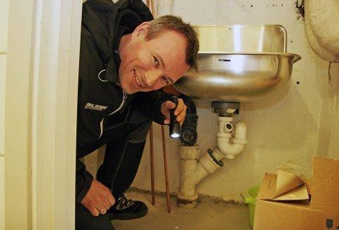 Tom Arild Jensen har sluttet å bli overrasket over hvor han finner rotter.
