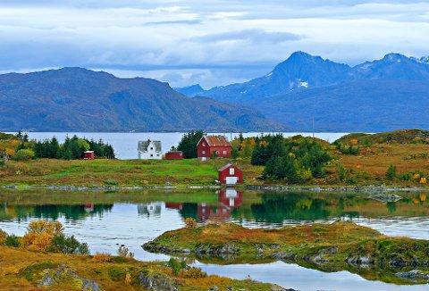 IDYLL: Den Idylliske øyen Skagøya lot seg ikke friste i år, men eieren prøver igjen til neste år.