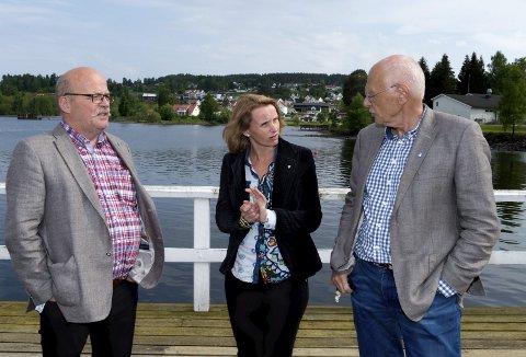 Fv. Leif Worum, Guri Bråthen og Bjørn Iddberg