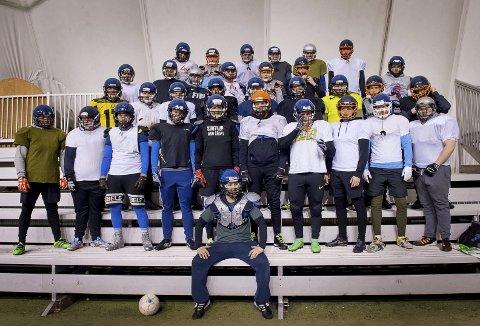 Sterke: Gjøvik Swans er en solid klubb med barske karer. Nå vil de ble enda sterkere og søker nye spillere.     Foto: Brynjar Eidstuen