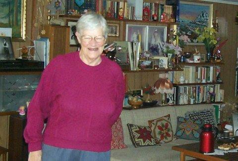 GA FORMUEN TIL DE ELDRE: Bertha Andreassen testamenterte formuen sin til beboerne ved Hovli eldresenter og sykehjem.