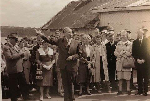 GJØVIK-BYGGER: Niels Ødegaard har sittet lengst som Ap-ordfører. Når folk kom til Gjøvik, var han selv raskt på pletten for å vise fram og forklare, heter det i Terje Paulsbergs bok «Høvdingen».