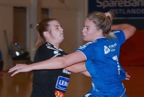 Mari Torkehagen scoret ni mål, uten at det hjalp Gjøvik HK nevneverdig borte mot Nordstrand.