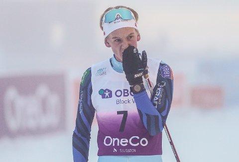 Sebastian Østvold kom på 13. plass i kombinert-NM på Natrudstilen på Sjusjøen lørdag.