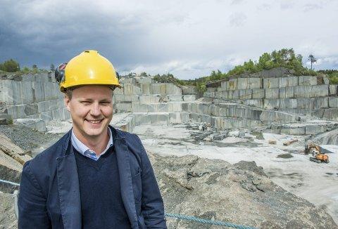 Fornøyd: CEO Thor-Anders Lundh Håkestad i Lundhs AS er veldig godt fornøyd med selskapets fjorårsresultat. Foto: Bjørn Jakobsen