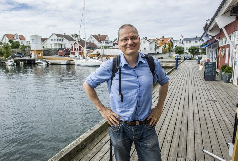 Gründer: Harald Gether innrømmer at det er krevende å være gründer. Det at selskapet nå har vunnet en arkitektkonkurranse betegner han som en milepæl. – Det kan være en døråpner, sier han.Foto: Bjørn Jakobsen