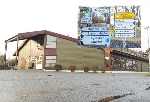 VIL UTVIDE: Larvik kommune har søkt om over 10 millioner kroner til utvidelse av Stavernhallen.