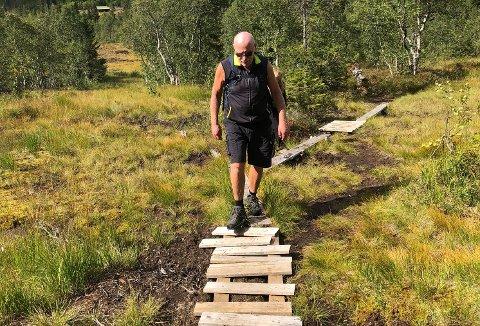 En vandrerute til Skrim blir lang, men det kan bli en fin tur.