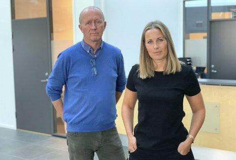 FAMILIEPROSJEKT: Kristine Aaltvedt-Rønning jobber med 10 lavinntektsfamilier, målet er å få foreldre ut i arbeid. Antallet barn i fattige familier i Porsgrunn er like mange som 68 fotballag.