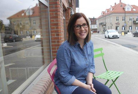 POSITIV: Leder for Rakkestad Handelsstands Forening, Christine Høie, ser lyst på det som nå vil skje i Rakkestad sentrum.Arkivfoto