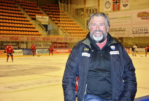 NY DAGLIG LEDER: Atle Svensrud (44) fra Lismarka blir ny daglig leder i Lillehammer Ishockeyklubb Elite.