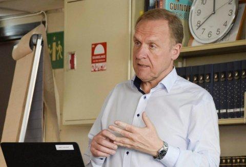 Ordfører i Jevnaker. Lars Magnussen.