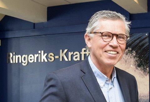 FORTESTTER: Per Roskifte fortsetter som styreleder i Ringerikskraft.