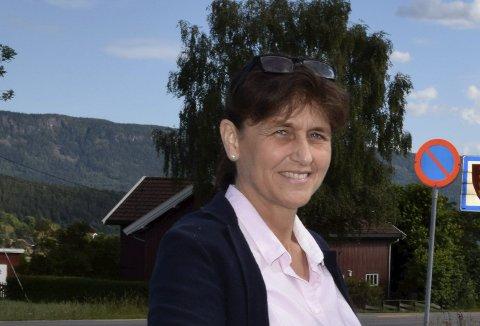 Kristin Remme (H) lover at Hole Høyre vil gi sin støtte til Christopher A. Wand.