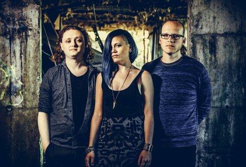 Ever Anew: Gruppa består av musikkprodusent Daniel Drumm (t.v.), låtskriver Aud Jorunn Wilhelmsen, og gitarist Kristian Winther.