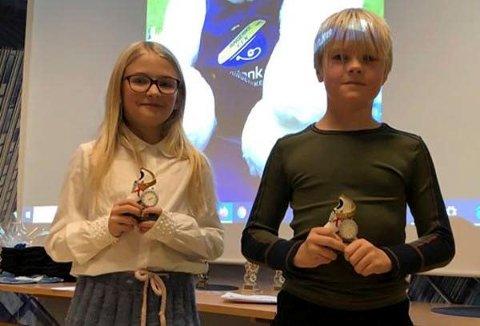 Det ble delt ut priser på friidrettsklubbens sesongavslutning. Årets Rekruttjente: Thea Elisabeth Alme. Årets Rekruttgutt: Noah Gøtestam.