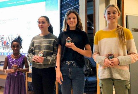 RFIK: Yulieth, Ella, Øyvor og Anna Birgitte.