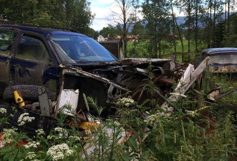 UØNSKET: - Fullstendig uønsket, sa Stein-Roar Eriksen (Ap) om bilkirkegården.