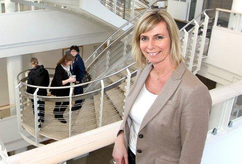 I MÅL: Anne Vibeke Hellandsjø, direktør for organisasjon og utvikling i nye Lillestrøm kommune, er i mål med ansettelsene av mellomlederne i den nye kommunen. FOTO: ARKIV