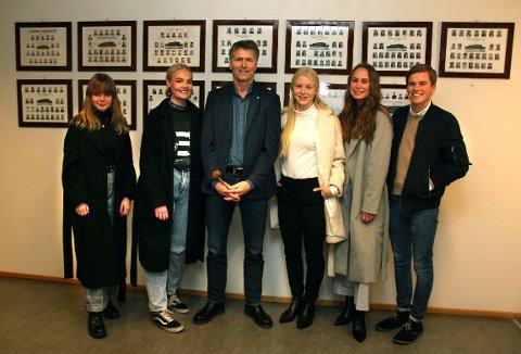 STOLT: Ordfører Anders Østensen er stolt av at Gjerdrum har flest ungdomsrepresentanter på Romerike.