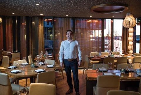 Kostbart: Daglig leder i Hinoki, Jan Kristian Dahl, sier sushirestauranten er kostbar, men at han har tro på fremtiden for Hinoki.