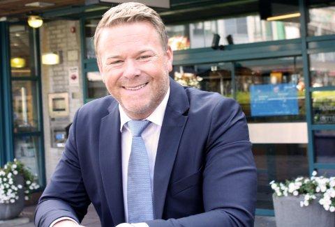 TIL KONKURRENTEN Petter Buer Hermansen går fra lederjobb i Nordea til toppjobb i DNB. (Foto: Thor Fremmerlid)