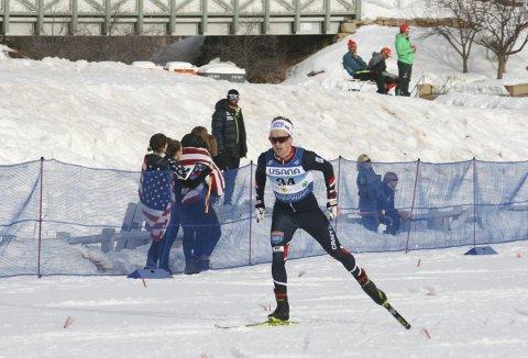 GODKJENT: Leif Torbjørn Næsvold gjennomførte en bra konkurranse da han endelig fikk muligheten i juniorverdensmesterskapet.