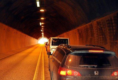 UTSATT: Utbedring av tunnelene på riksvei 23 gjennom Røyken og Hurum starter ikke opp før høsten 2018. Mest sannsynlig vil tunnelene bare bli kveld- og nattestengt.