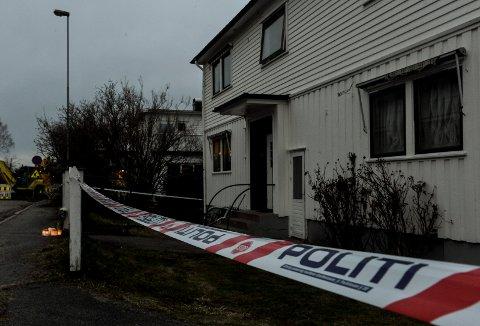 ÅSTEDET: I denne leiligheten ble Thea Halvorsen Braavold drept i februar 2020.