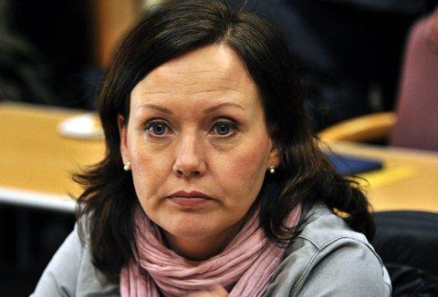 SVEKKES: Ann-Hege Indrevoll og Høyre går tilbake i undersøkelsen.