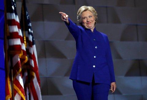 Hillary Clinton er historisk.