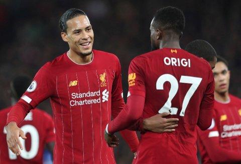 Vi tror vat Virgil van Dijk og Liverpool vinner mot Salzburg i tirsdagens skjebnekamp. (AP Photo/Jon Super)