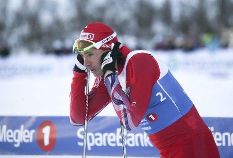 LITT BETENKT: Ola Vigen Hattestad hadde håpet på bedre sluttresultat i NM. Superformen er ennå ikke inne. Han ble totalt nummer sju.