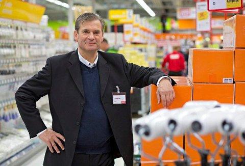 Per Jacobsen er administrerende direktør i Jula. Kort tid etter etableringen i Askim skal Jula åpne to nye varehus like i nærheten.