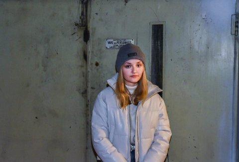 TRIST: Iben Marie Høie-Svanstrøm (15) fra Askim er trist og sur fordi Polen-turene velges bort.