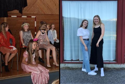 SHOWCAMP: Sofie Øren og Louise Tveito vil gje unge show i ferien. Etter ei hektisk veke, er framsyninga for familie og vener eit høgdepunkt.