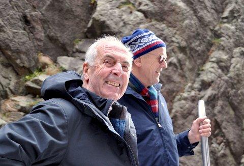 GÅR UT: Det er særleg Bjørn Laugaland (til høgre) og Hjelmeland som har vore opptekne av å setja klare grenser for kor store delar av Sandnes som kan nyta godt av Ryfylkefondet. Nå melder Stanley Wirak seg ut av samarbeidet.