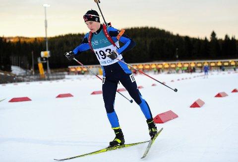 HAR BLITT BEDRE: Marius Møller Schiefloe har tatt steg som skiskytter det siste året og ser frem til å få bryne seg på de beste i landet igjen.