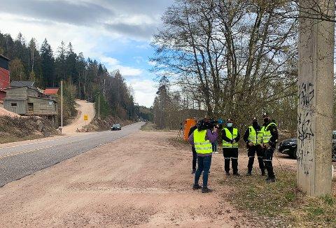 Onsdag holdt UP kontroll ved Juve pukkverk, retning Drammen. Høyeste målte hastighet var 90 kilometer i timen.