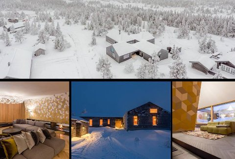 KOMMER FOR SALG: Hytta til kraftinvestoren Einar Aas kommer for salg på nyåret. Prisantydningen ligger på 8,9 millioner kroner. Foto: THT Foto