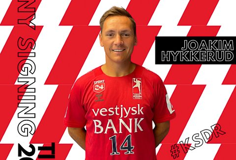 SIGNERT: Joakim Hykkerud har signert for danske Lemvig-Thyborøn.