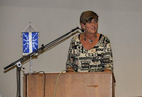 AVKREFTER: Ordfører Gry Fuglestveit avkrefter at det skal dreie seg om seksuell trakasering.