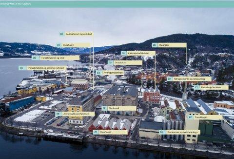 LÆRER MYE: - Den er høy kvalitet på den nye E-boka. Jeg mener mange vil lære svært mye om verdensarven, bakgrunnen for og konsekvensene av dem ved å lese denne boka, sier Per Christian Voss, tidligere eiendomssjef ved Norsk Hydro på Notodden.