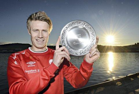 Toppscorer: Christoffer Folland er toppscorer i 4. divisjon. AK-spissen stoppet på 31 mål i år.