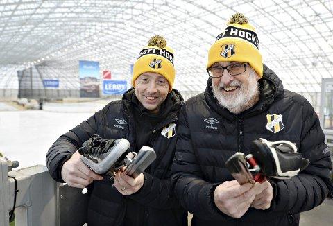 Gleder seg: Ludvig Storvik gleder seg til å gå norgescup på hjemmebane i helga. Tor Olsen og de andre arrangørene i IL Braatt forteller at det har full kontroll før Norges nest beste skøyteløpere slippes ut på isen i Arena Nordvest lørdag og søndag.
