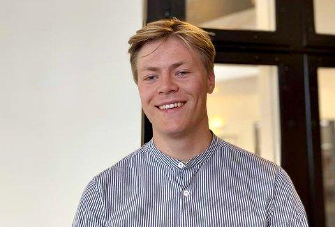 Jørgen Reymert Jensen er nytt sentralstyremedlem i Kristelig Folkepartis Ungdom.