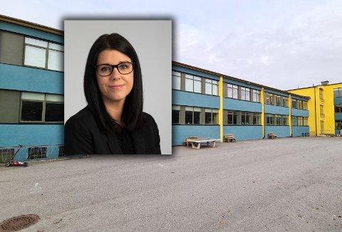 Marie Lovise Reiten måtte hente datteren på Dalabrekka skole etter at det ble påvist tre tilfeller av koronasmitte på skolen.