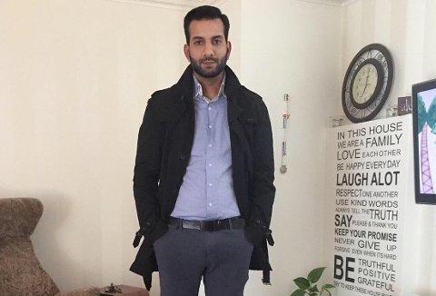 HJEMME: Mutahir Shahzad og familien hadde det vanskelig med å komme hjem fra Pakistan til Tolvsrød.