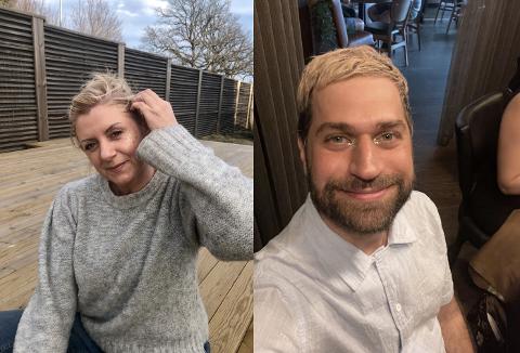 GLITRENDE OG MILJØVENNLIG: Charlotte Bakke tar nå med seg Tomas Edris skal nå sammen eie merket og bedriften Glitter Eco Love.